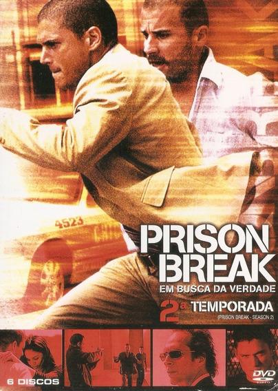 Box Prison Break - Em Busca Da Verdade - 2° Temporada - Novo