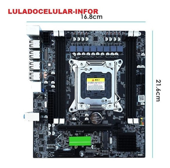Placa Mãe X79 Ddr3 Lga 2011 Gaming Xeon V1 V2 Core I7