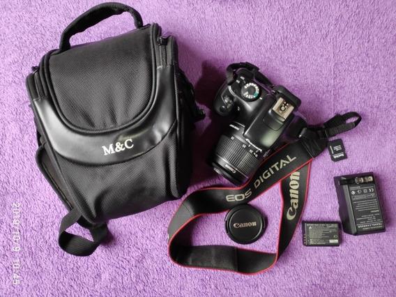 Canon Eos Rebel T3 Completa Com 6500 Clicks