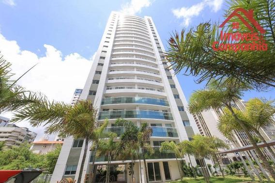 Apartamento Com 3 Dormitórios À Venda, 96 M² - Cocó - Fortaleza/ce - Ap1607