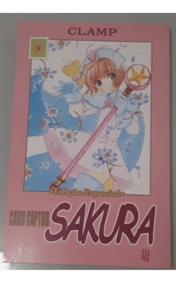 Mangá Sakura Card Captor - Vários Volumes -edição Especial