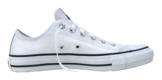 Converse All Star Leather Blanco