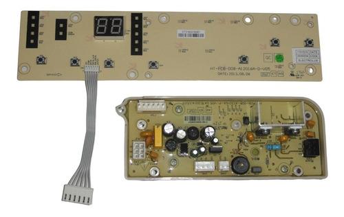 Plaqueta Gafa Aquarius Inox 7500 Completa Original