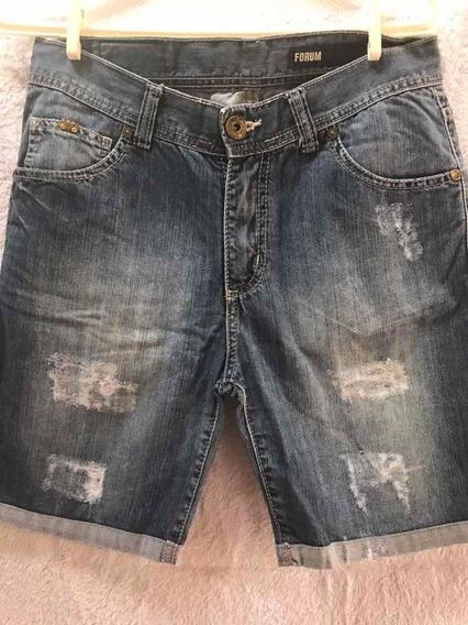 Bermuda Jeans Forum Tamanho 36