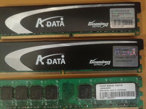 Memoria Ram Ddr2 Para Computadoras De Escritorio Y Portatil