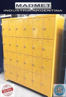 Locker Metalico 24 Ptas Pront Entreg-zonas Gratis-52cm Prof