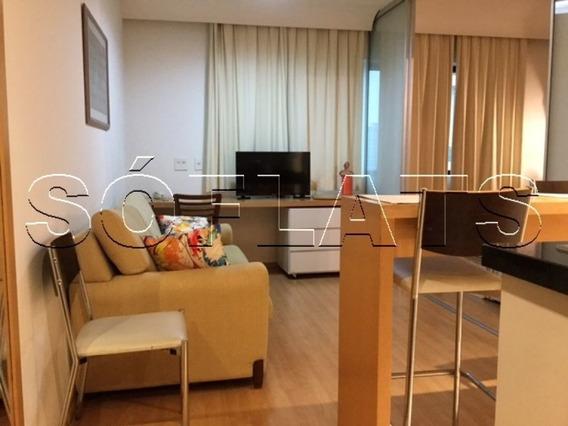 Flat No Pool, Próximo A Av. Ibirapuera, Os Metro Moema E Ao Shopping Ibirapuera - Sf27467