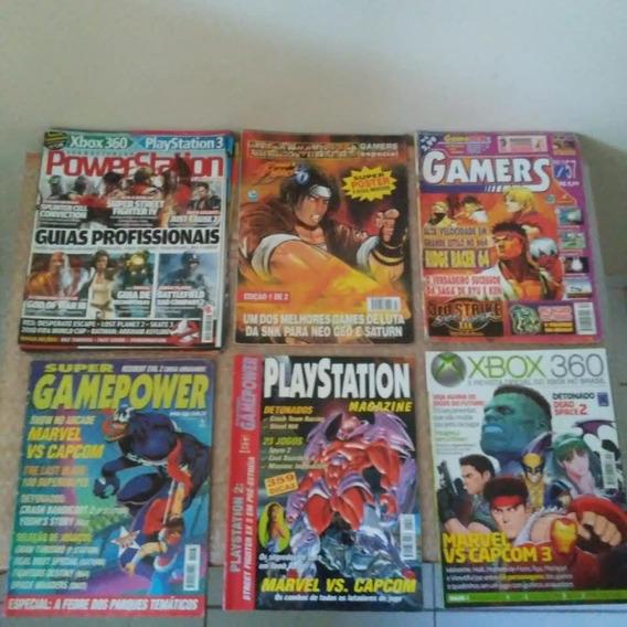 Revista Street Fighter , Marvel Vs Capcom , King Of Fighters