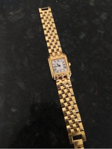 Relógio Technos Banhado A Ouro