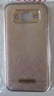Capinha Para Samsung J5 Dourada