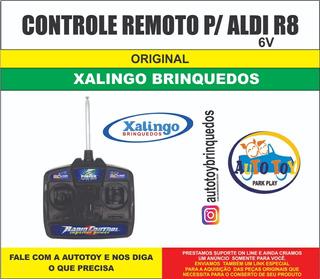 Audi R8 Xalingo 6v - Só O Controle Remoto 27mhz Original
