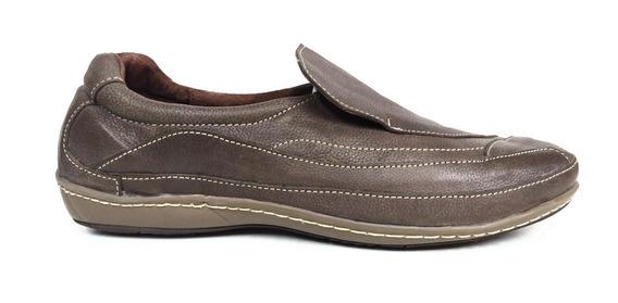 Zapatos Gondolino 9941 Mocasin Cuero Con Base Febo Cosida