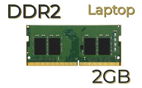 Memoria Ram Ddr2 2gb Laptop Somos Tienda