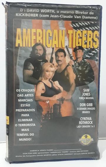 Filme Fita Vhs- American Tigers- Ano 1996
