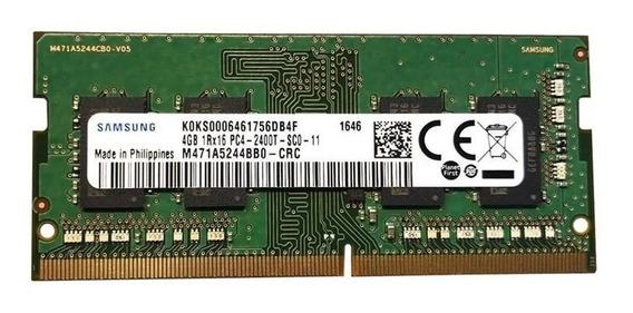 Memoria Samsung 8gb (2x4gb) Ddr4 Pc4 2400mhz Notebook