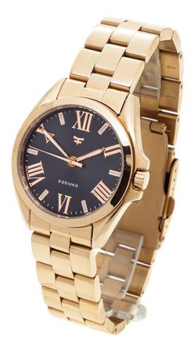 Reloj Kosiuko Mujer 823a - Acero Quirúrgico 316 - Wr30
