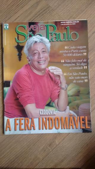 Revista Veja São Paulo 5 Clodovil Homossexualidade N264