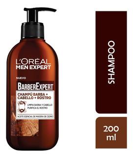 Shampoo Barba Rostro Pelo Men Expert Loreal 200ml
