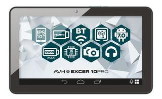 Tablet Avh Excer 10 Pro 10 P. 1gb Ram 16gb Mem. Center Hogar