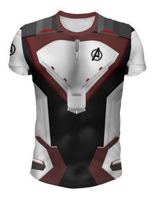 Remera Avengers Endgame Universo Cuántico Mod 2 - Full Print