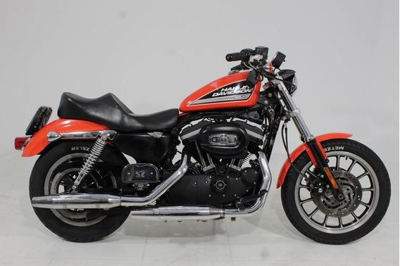 Harley Davidson Sportster Xl 883 R 2009 Laranja