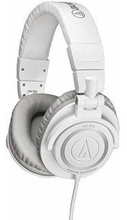 Auriculares De Monitor De Estudio Audio Technica Athm50 Con