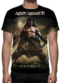 Camisa, Camiseta Amon Amarth - Berserker - Promoção