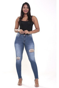 44f633393d74bc Calça Jeans Skinny Magic Size+power Strech 1756687 38 Ao 42