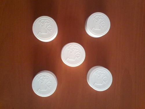 Imagen 1 de 1 de Tapa Rosca R-38 Para Envase Pastillero A Prueba De Niños