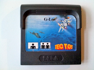 Cartucho Sega Game Gear G-loc