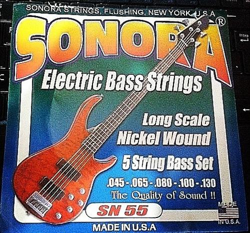 Cuerdas Para Bajo Electrico 5 (set De 5)