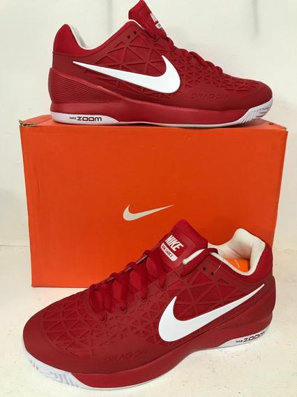 Tênis Nike Zoom Cage 2 Tennis Vermelho Clay Court