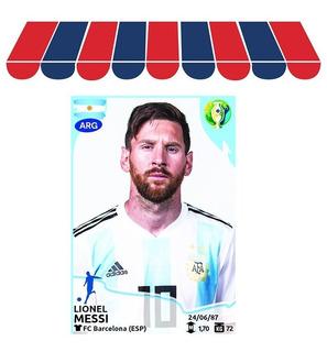 Lote X 200 Figuritas Copa América 2019 Panini Incluye Messi