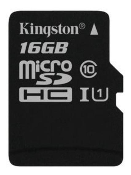 Cartão de memória Kingston SDCSSP Canvas Select 16GB