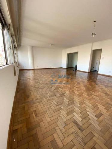 Apartamento Com 3 Dormitórios, 236 M² - Venda Por R$ 2.000.000,00 Ou Aluguel Por R$ 4.500,00 - Higienópolis - São Paulo/sp - Ap63456