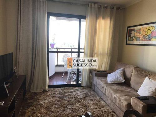 Imagem 1 de 20 de Apartamento Com 3 Dormitórios À Venda, 84 M² Por R$ 600.000,00 - Tatuapé - São Paulo/sp - Ap5422