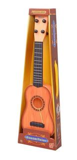 Juego Juguete Guitarra Criolla De Madera Para Niños