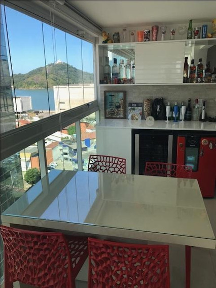 Apartamento Em Enseada Do Suá, Vitória/es De 85m² 3 Quartos À Venda Por R$ 750.000,00 - Ap206823