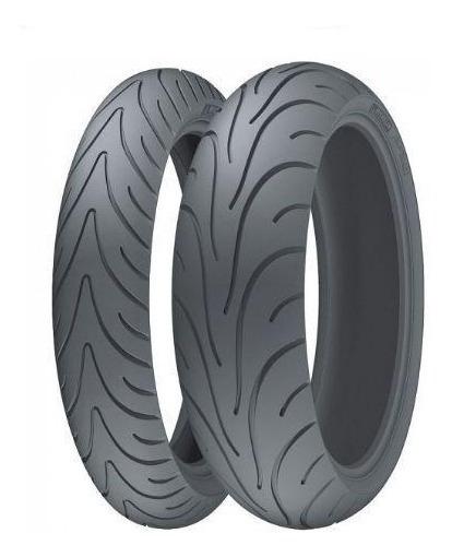 Par Pneus Michelin Pilot Road 2 120/70-17+190/50-17