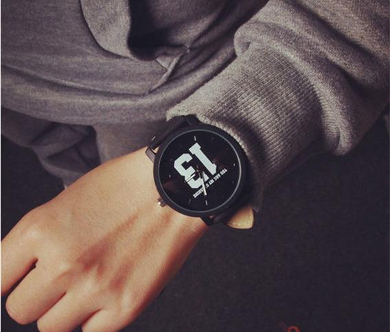 Relógio De Pulso Grande Unissex Barato Modelo 13