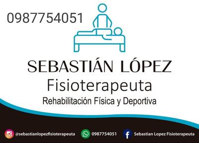 Fisioterapia, Rehabilitación, Manejo De Lesiones A Domicilio