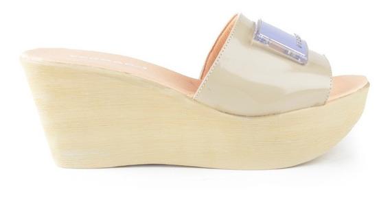Zuecos Zapatos Mule De Mujer Cuero Nin - Ferraro - Ss2020