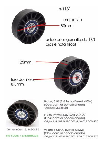 Polia Tensora Lisa F250 6cc Volare Blazer S10