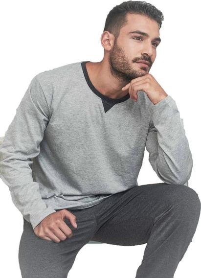 Pijama De Jersey Pantalon Con Puño De Hombre - Tipico 893