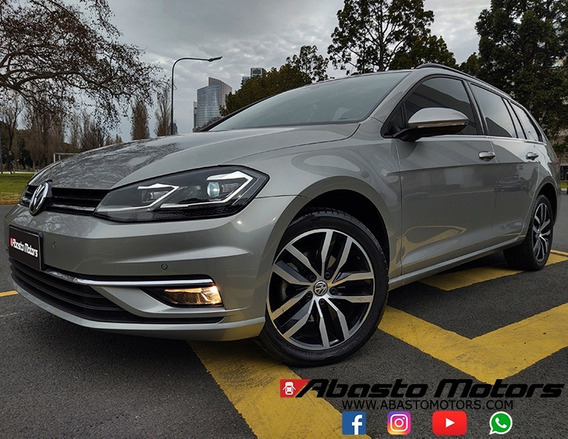 Vw Volkswagen Golf Variant 2018 Highline 1.4 T Dsg Impecable