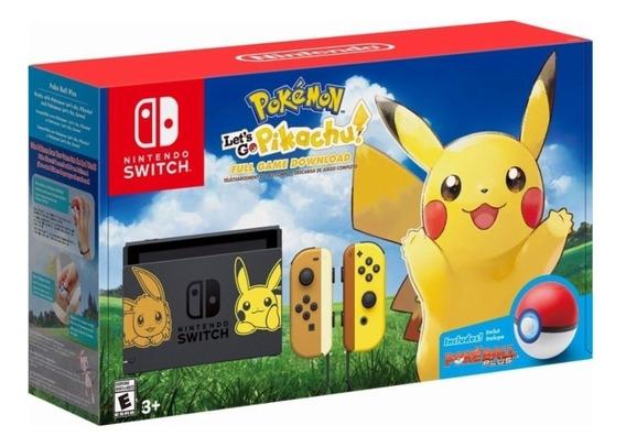 Console Nintendo Switch Pokemon Let