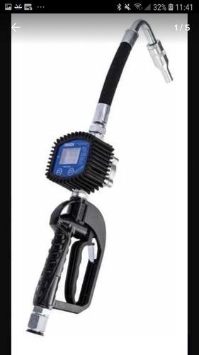 Pistola Com Medidor Digital Para Óleo Lubrificante Bozza 900
