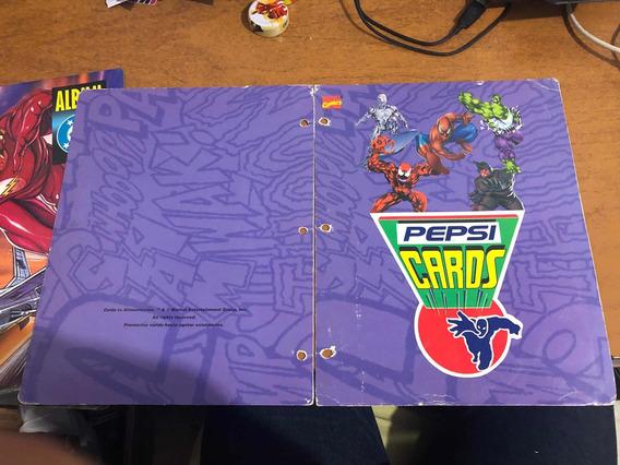 Álbumes De Pepsi Cards (leer La Descripción)