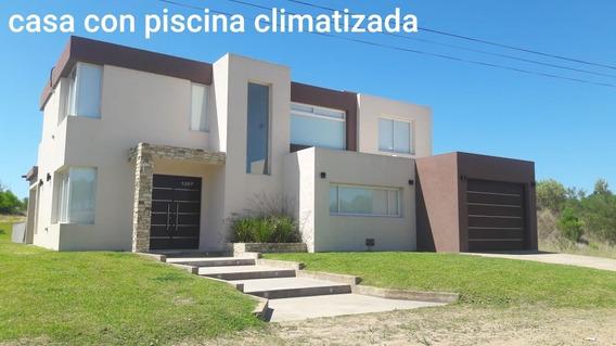 Alquilo Casa En Pinamar Con Piscina Climatizada