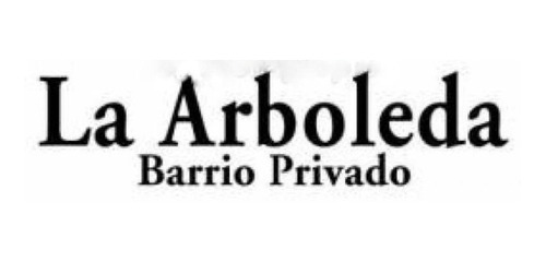Imagen 1 de 7 de Lote En Barrio Cerrado La Arboleda Ii - Parque Leloir